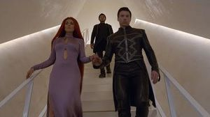 Inhumans in IMAX:  A pretty okay story with two ridiculous plot points
