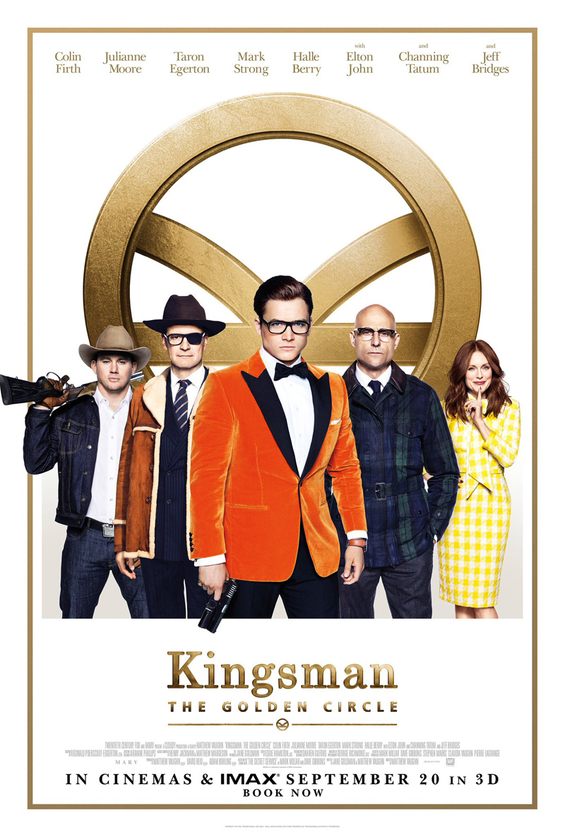 'Kingsman: The Golden Circle' both manages to raise the bar and fall a bit short