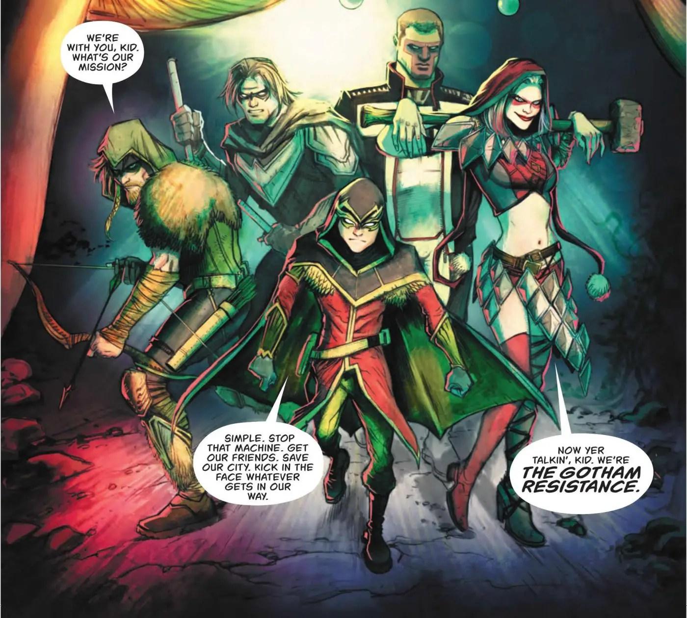 Green Arrow #32 Review