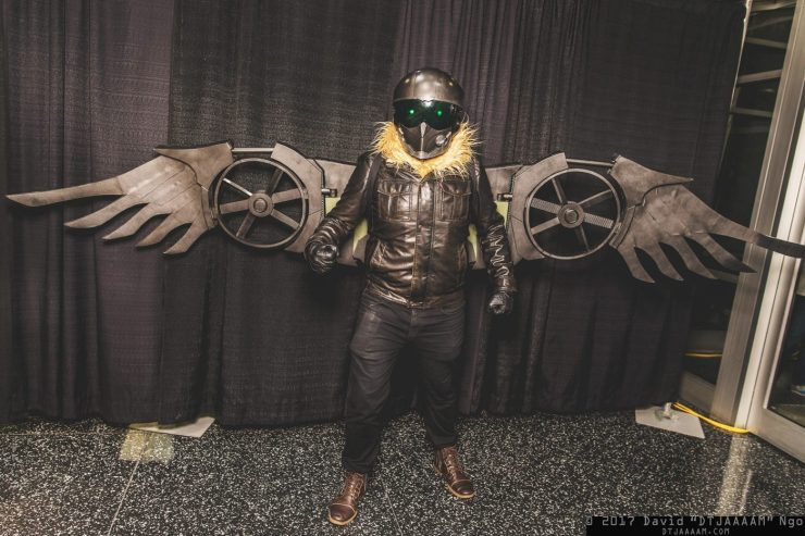 Spider-Man: Homecoming: Vulture cosplay by Black Zero