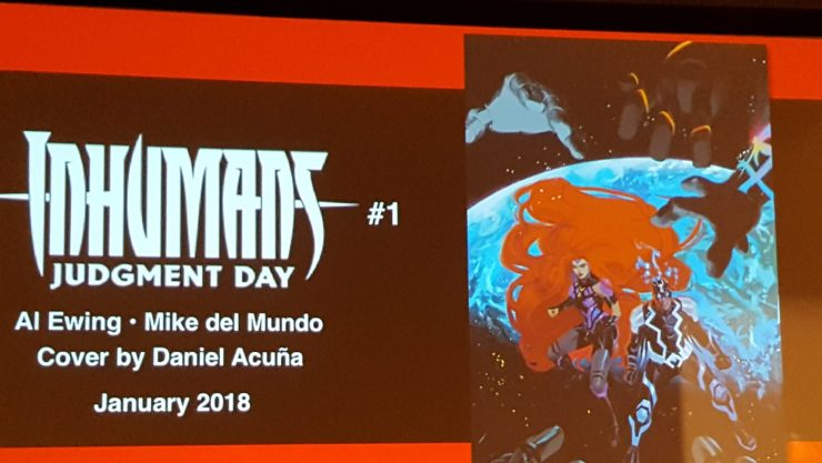 """Inhumans reveal at NYCC:  """"Judgment Day"""" is coming"""