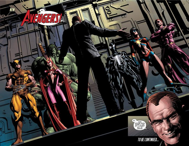 'New Avengers by Brian Michael Bendis: The Complete Collection' Vol. 7 Review