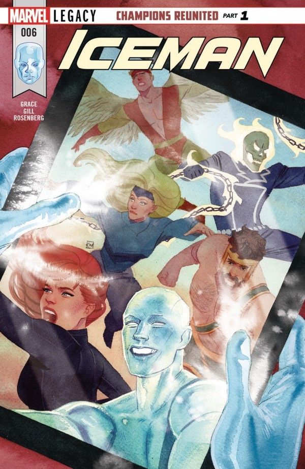 Iceman #6 Review