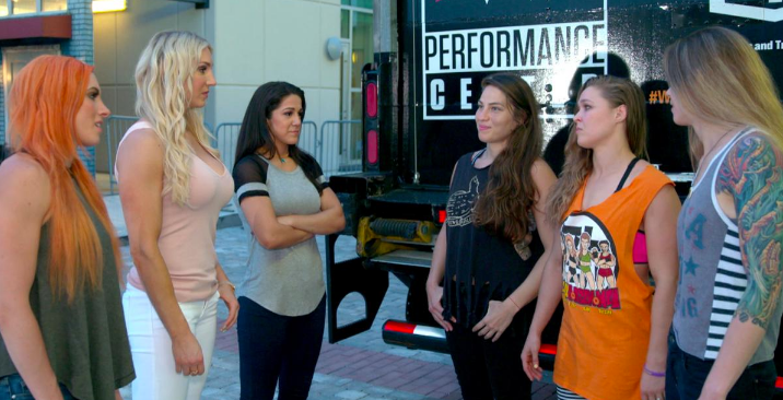 Ronda Rousey reports for training at WWE Performance Center