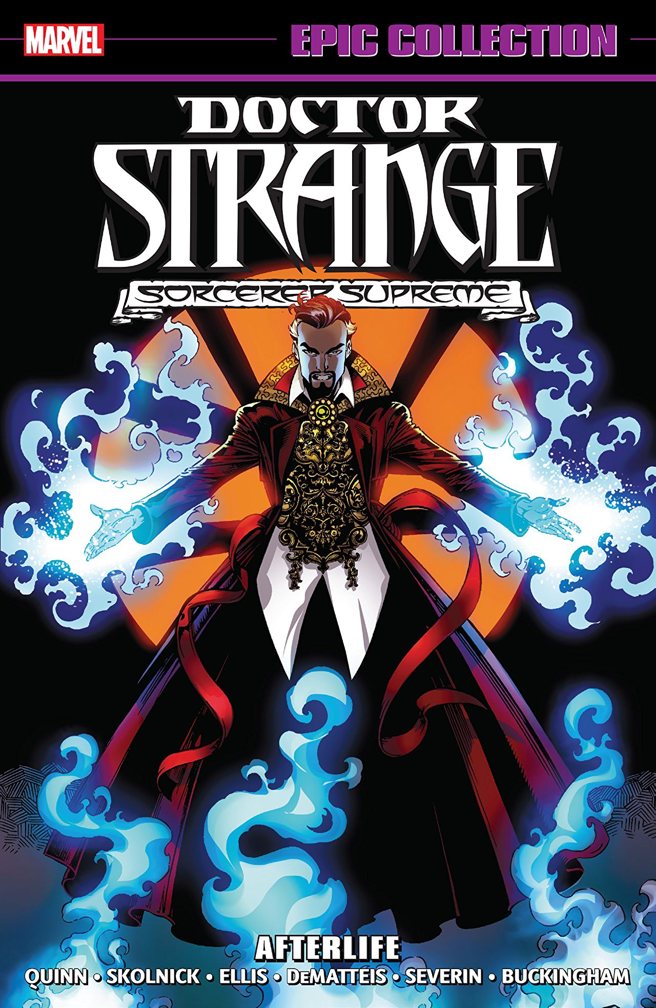 'Doctor Strange Epic Collection: Afterlife' review: Creative casting in catastrophe magic