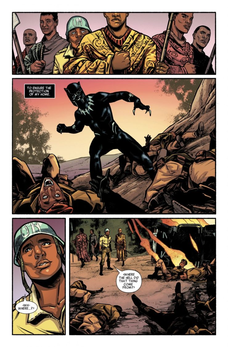 Marvel Preview: Black Panther Prelude #1