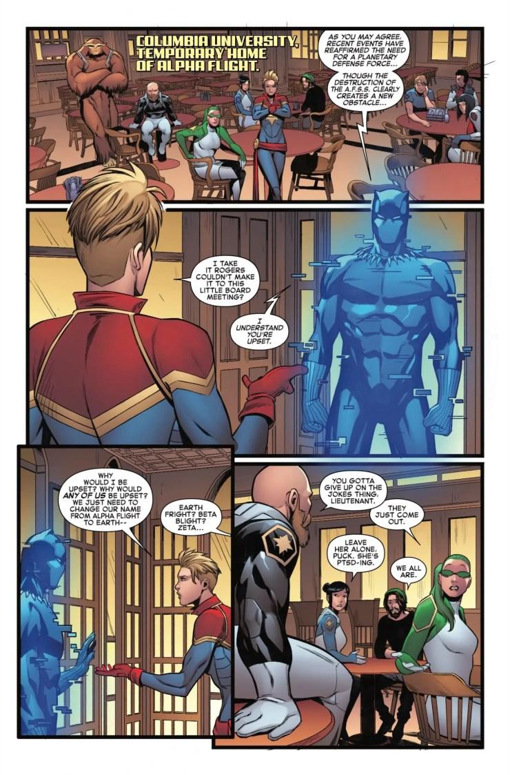 Marvel Preview: Captain Marvel #125