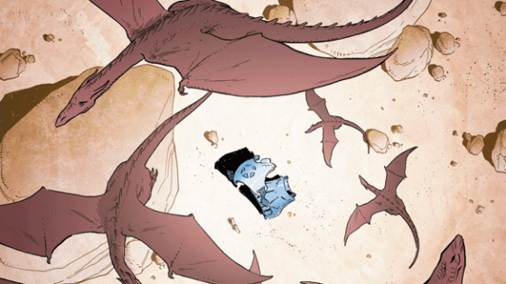 The story set up here may finally make things in Copperhead interesting again.