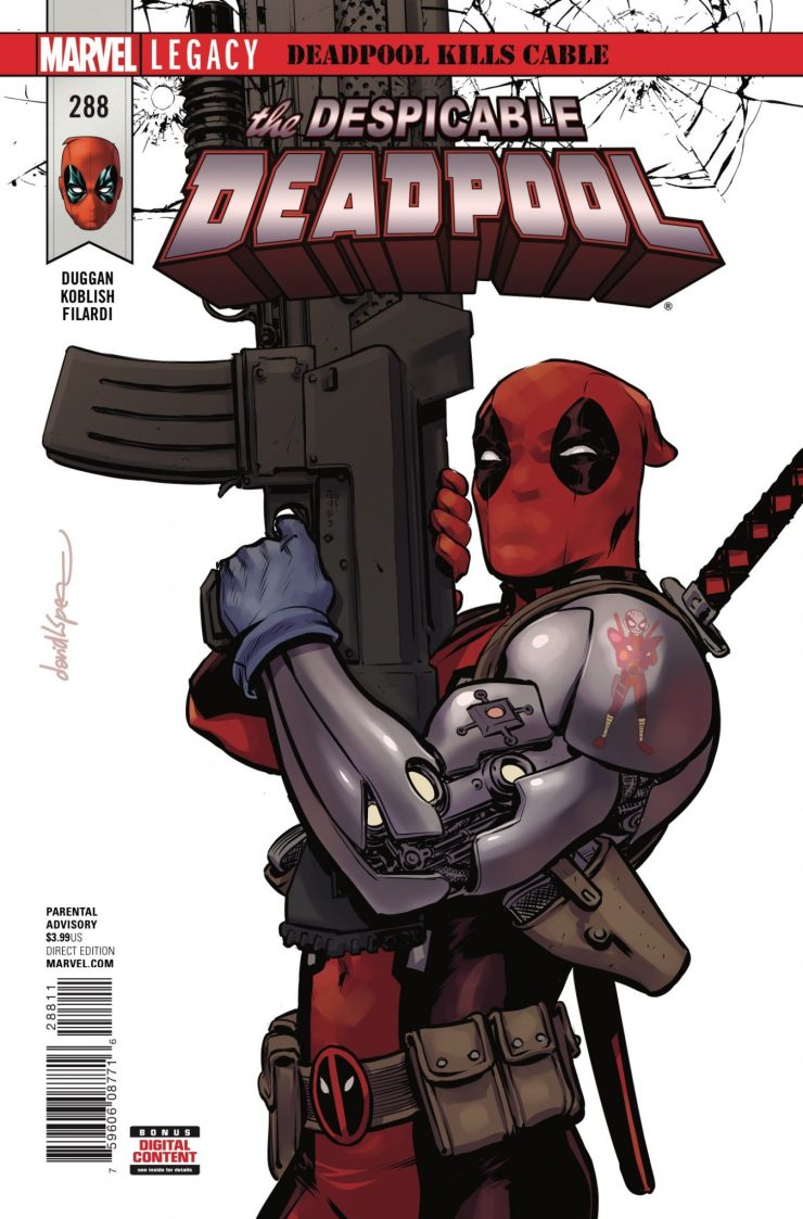 Marvel Preview: The Despicable Deadpool #288