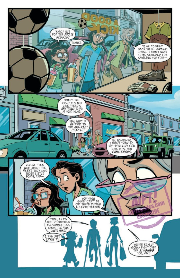 [EXCLUSIVE] IDW Preview: Goosebumps: Monsters at Midnight #1