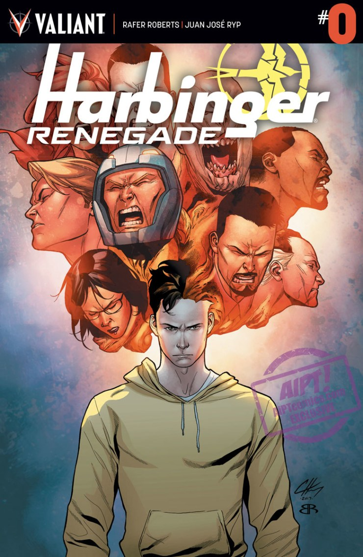 [EXCLUSIVE] Valiant Preview: Harbinger Renegade #0
