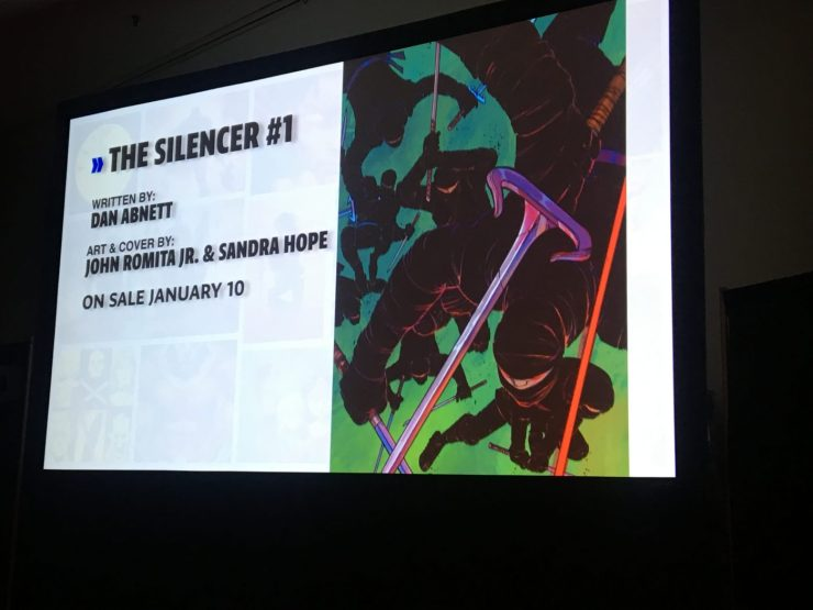 NYCC 2017: DC's 'The Silencer' the world's greatest assassin