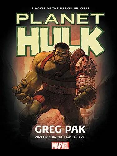 'Planet Hulk' prose novel review