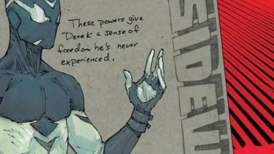 NYCC 2017: DC's 'Sideways' follows a kid who falls through a crack in reality