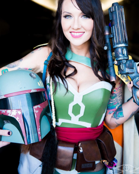 NYCC 2017: Cosplayer and model Erica Fett talks bad horror movies, cosplay and her love of all things Star Wars