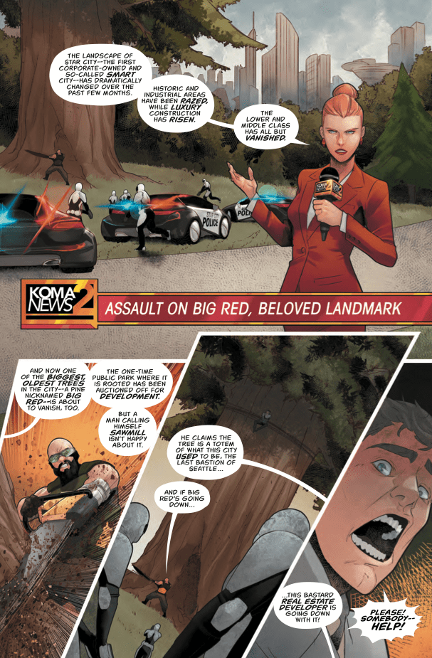 Green Arrow #33 Review