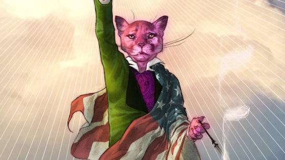 DC is giving Hanna-Barbera's Snagglepuss new life as a gay playwright from the south
