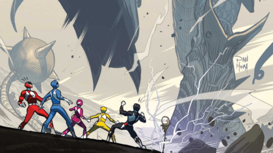 Go Go Power Rangers #4 Review
