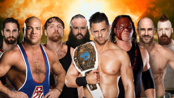 The Shield return is hampered by illness, and The Big Dog will be replaced by Kurt Angle.