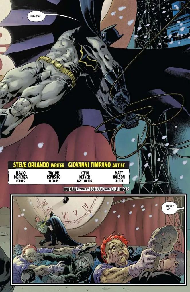 Dynamite Preview: The Shadow/Batman #1