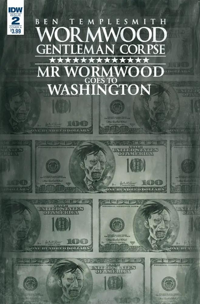 Wormwood, Gentleman Corpse: Mr. Wormwood Goes to Washington #2 Review