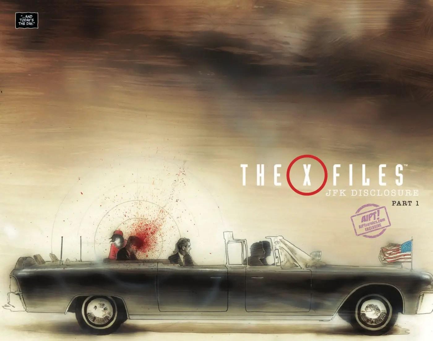 The X-Files: JFK Disclosure #1 Review