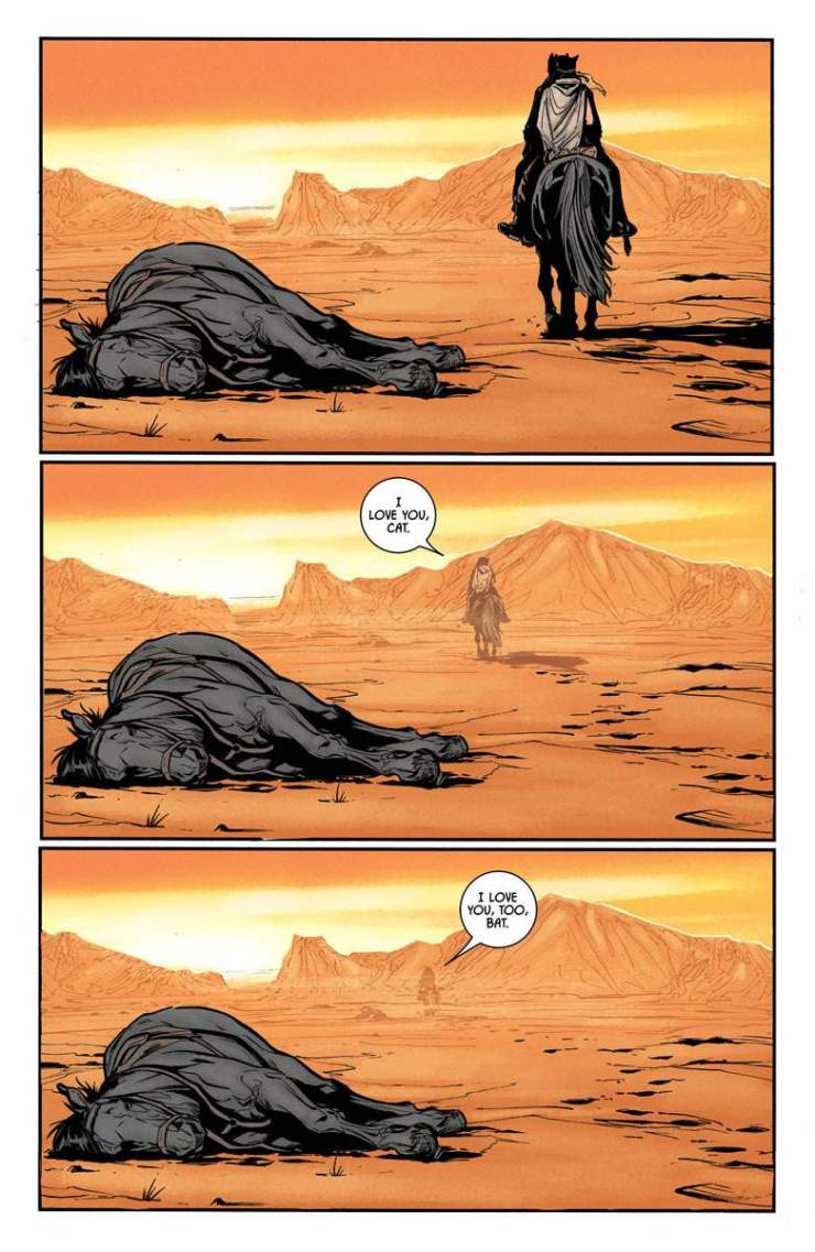 Batman #33 Review: Into the desert with Bat and Cat