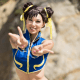 You ready for this?  Robin Art & Cosplay presents Street Fighter's Chun-Li in fine form.