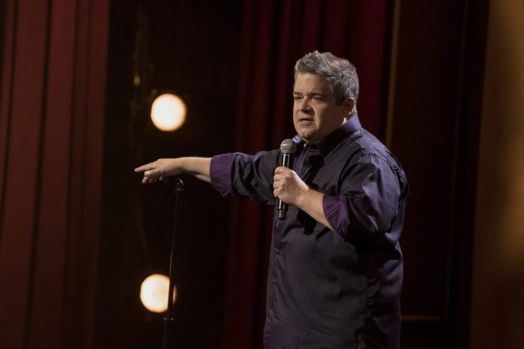 """Batman can go fuck himself"": Patton Oswalt laments grieving superheroes in new Netflix special"