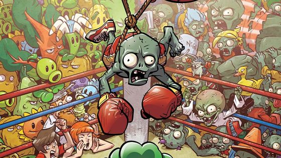 Plants vs. Zombies Boxed Set 3 collects three Plants vs. Zombies graphic novels in one deluxe boxed set.  Is it good?