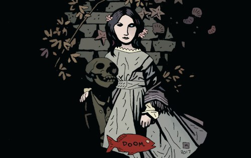 Troy Nixey on his new Dark Horse series, working with Mike Mignola and more