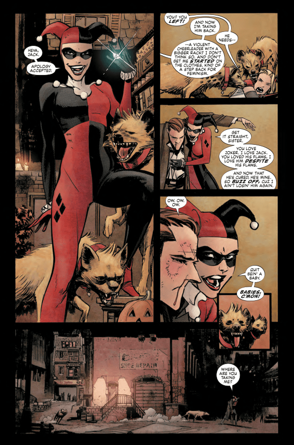 The original Harley Quinn comes back in the cleverest of ways