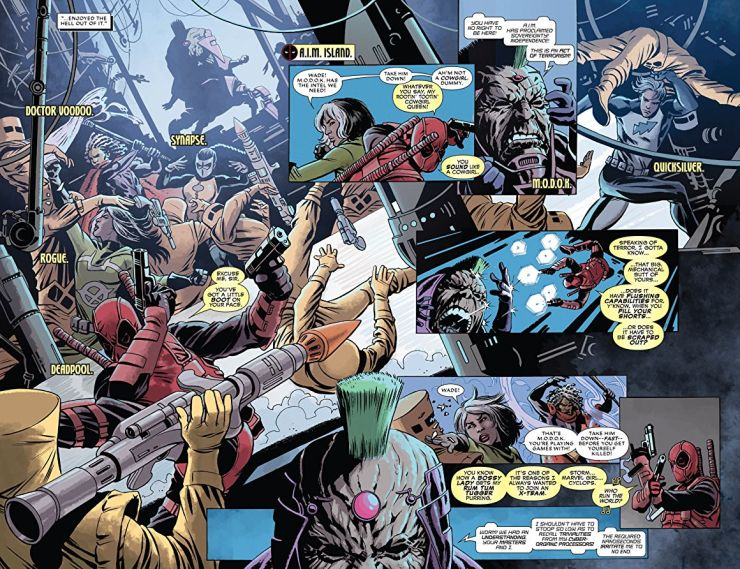 Deadpool Kills the Marvel Universe Again review:  packed tight with energy and delicious dialogue