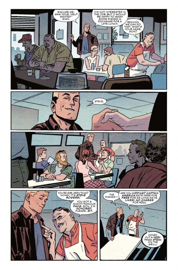 Marvel Preview: Captain America #696