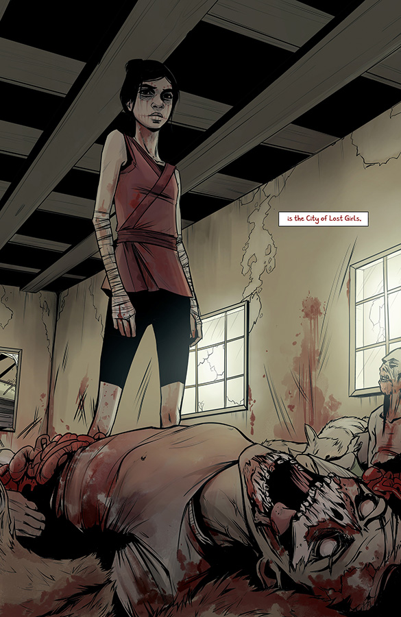 Coyotes #1 Review