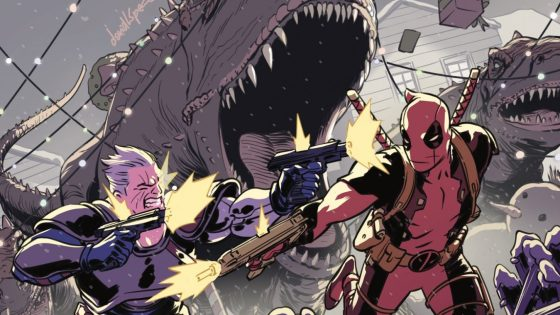 Yeah – Deadpool's still on a mission to bump off his best buddy Cable...