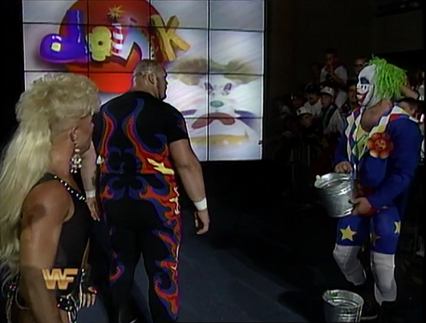Doink Feuding with Bam Bam Bigelow and Luna Vachon