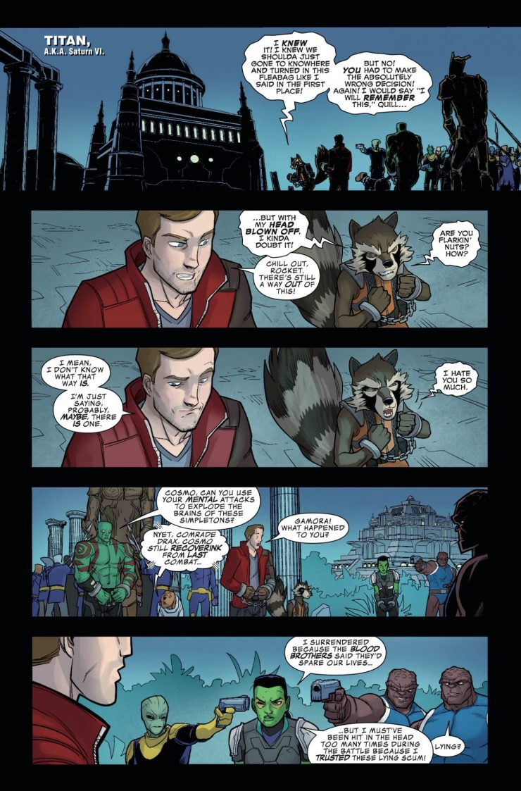 Marvel Preview: Guardians of the Galaxy: Telltale Games #5