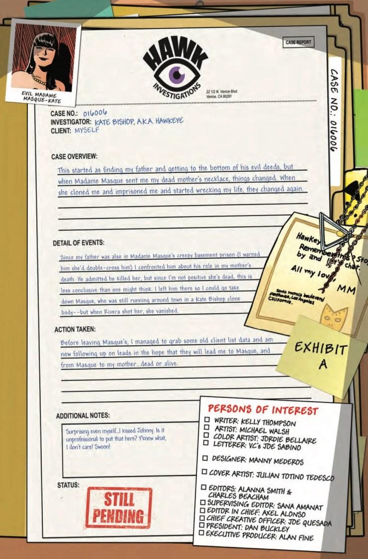 Marvel Preview: Hawkeye #12