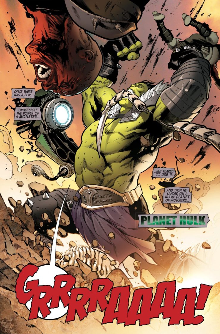Marvel Preview: The Incredible Hulk #710