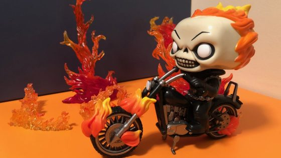 Unboxing/Review: Funko Pop! Rides: Marvel Classic Ghost Rider with Bike Vinyl Figure