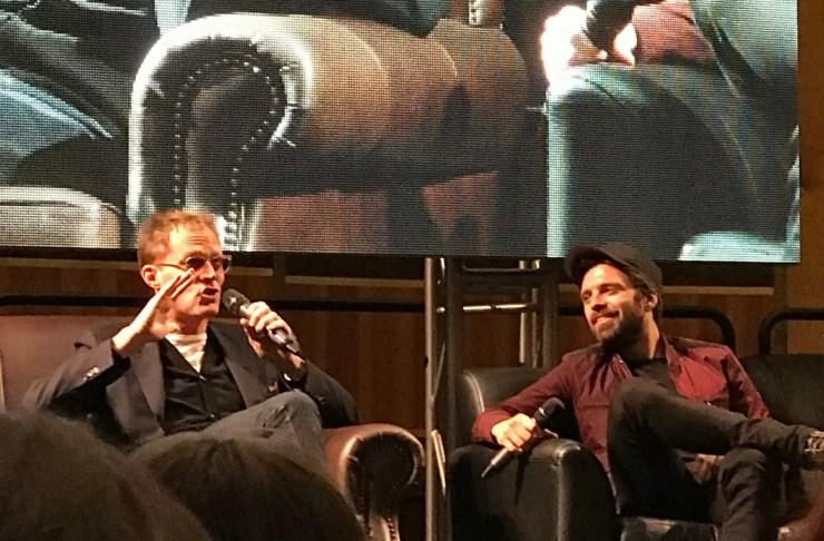 Paul Bettany and Sebastian Stan tease 'Avengers: Infinity War' at Rhode Island Comic Con