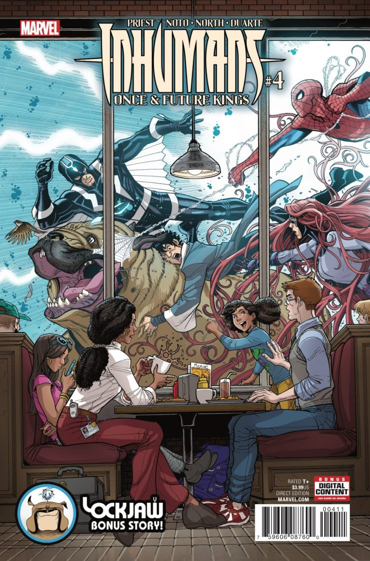 Marvel Preview: Inhumans: Once and Future Kings #4