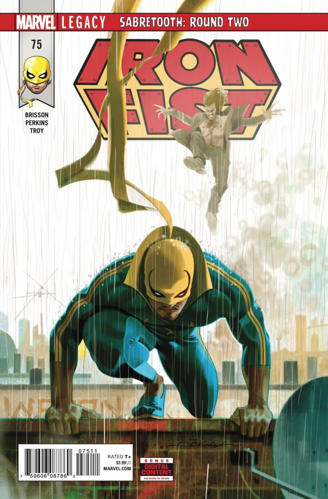 Marvel Preview: Iron Fist #75