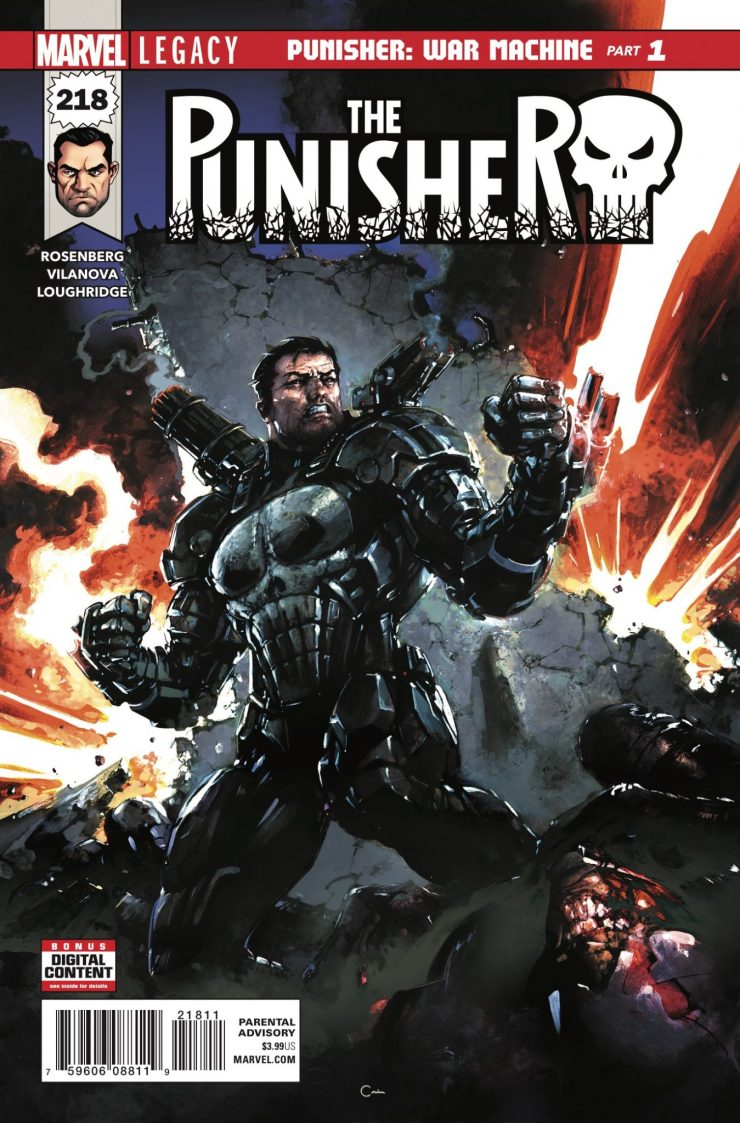 Marvel Preview: Punisher #218
