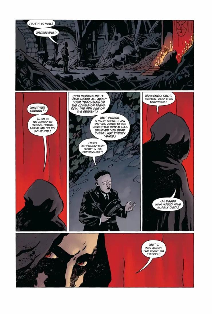 Rasputin: The Voice of the Dragon #1 Review