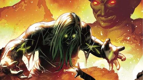 The LEADER is back and he's using his gamma-enhanced super-intelligence to strike at She-Hulk!