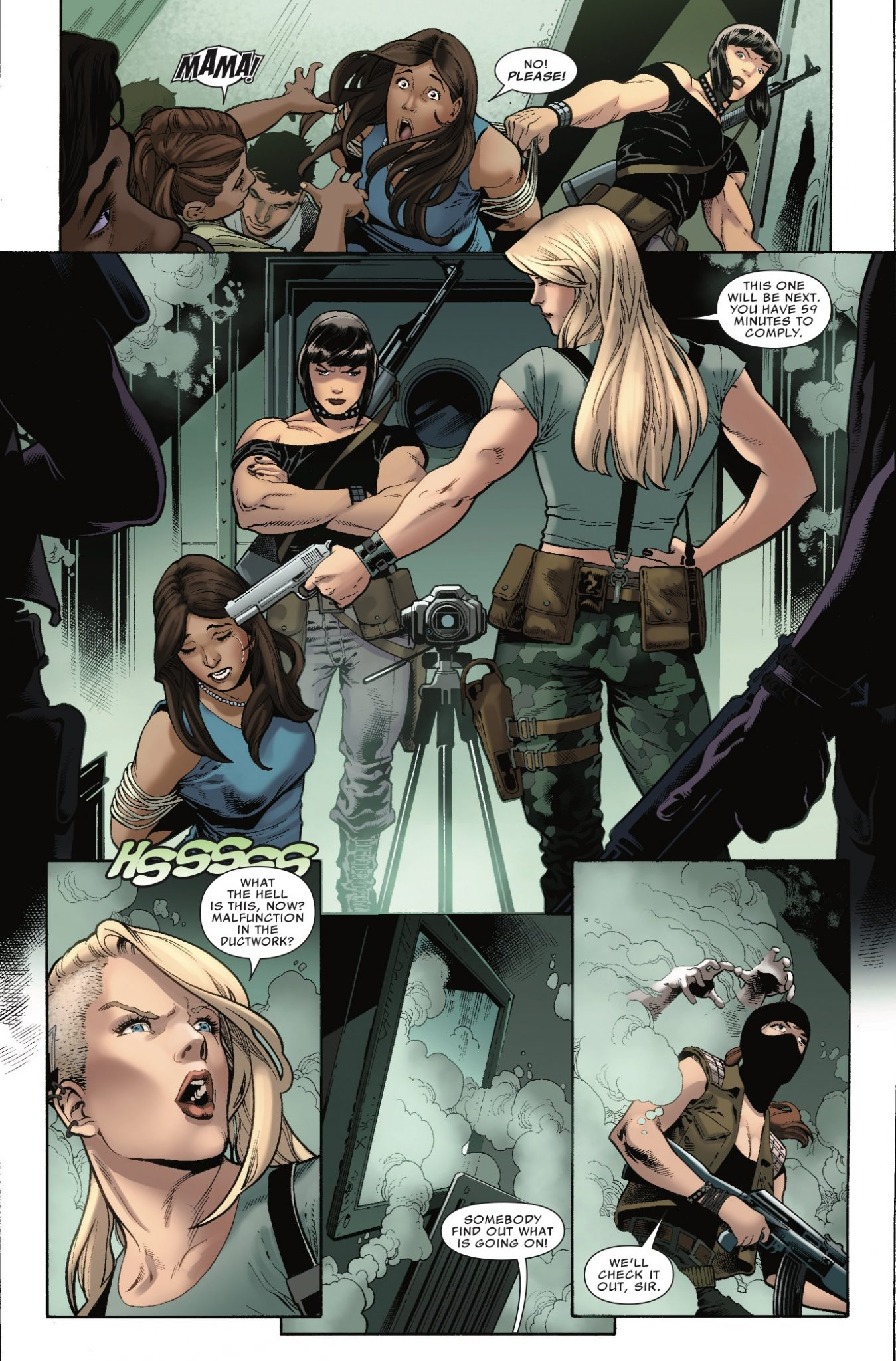 Silver Sable And The Wild Pack #36 Review