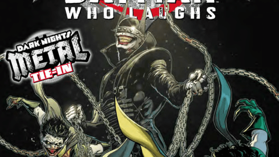 Perhaps the most anticipated crossover of DC's Metal event is finally here: the origin story behind the mysterious leader of the Dark Knights, The Batman Who Laughs.