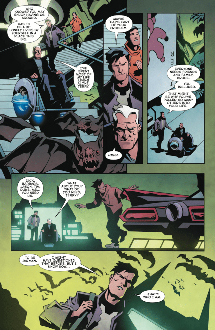 Batman Beyond #14 Review